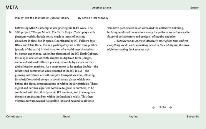 META journal article at ICI 15